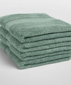 Yumeko bath-hand-towels-cotton-sea-green-stapel