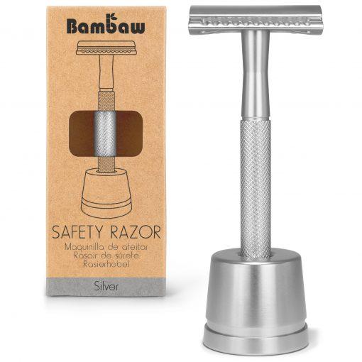 Bambaw-SafetyRazor-zilver