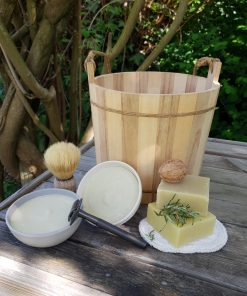Shampoo- en scheerzeep